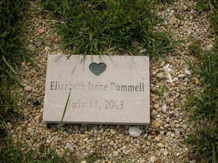 PUMMELL, ELIZABETH IRENE - Union County, Ohio | ELIZABETH IRENE PUMMELL - Ohio Gravestone Photos