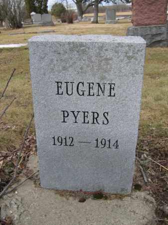 PYERS, EUGENE - Union County, Ohio | EUGENE PYERS - Ohio Gravestone Photos
