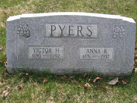 PYERS, VICTOR H. - Union County, Ohio | VICTOR H. PYERS - Ohio Gravestone Photos