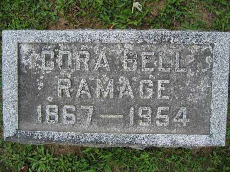RAMAGE, CORA BELL - Union County, Ohio | CORA BELL RAMAGE - Ohio Gravestone Photos