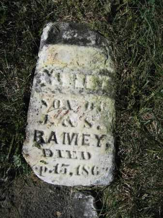 RAMEY, ALBERT - Union County, Ohio | ALBERT RAMEY - Ohio Gravestone Photos