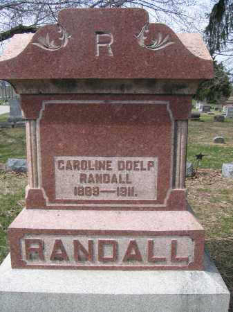 RANDALL, CAROLINE DOELP - Union County, Ohio   CAROLINE DOELP RANDALL - Ohio Gravestone Photos