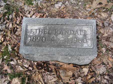 RANDALL, ETHEL - Union County, Ohio   ETHEL RANDALL - Ohio Gravestone Photos