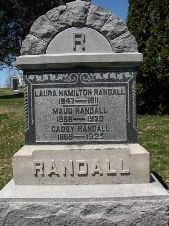 RANDALL, MAUD - Union County, Ohio | MAUD RANDALL - Ohio Gravestone Photos