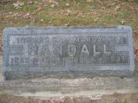 RANDALL, THOMAS S. - Union County, Ohio | THOMAS S. RANDALL - Ohio Gravestone Photos