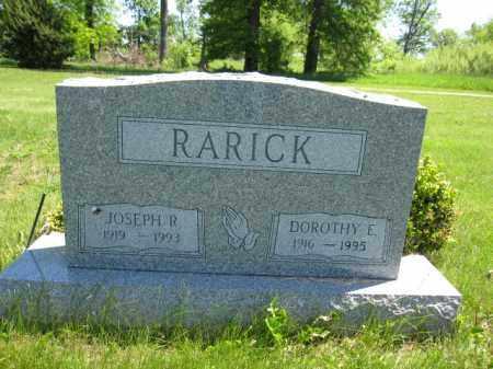 RARICK, DOROTHY E. - Union County, Ohio | DOROTHY E. RARICK - Ohio Gravestone Photos