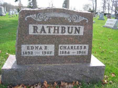 RATHBUN, EDNA E. - Union County, Ohio   EDNA E. RATHBUN - Ohio Gravestone Photos