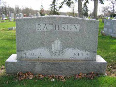 RATHBUN, JOHN N - Union County, Ohio | JOHN N RATHBUN - Ohio Gravestone Photos