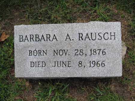 RAUSCH, BARBARA A. - Union County, Ohio | BARBARA A. RAUSCH - Ohio Gravestone Photos