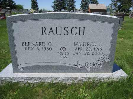 RAUSCH, MILDRED L. - Union County, Ohio | MILDRED L. RAUSCH - Ohio Gravestone Photos