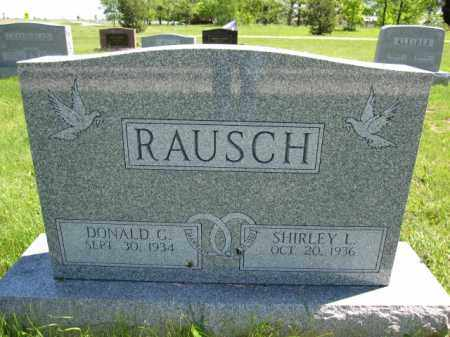 RAUSCH, DONALD C. - Union County, Ohio | DONALD C. RAUSCH - Ohio Gravestone Photos