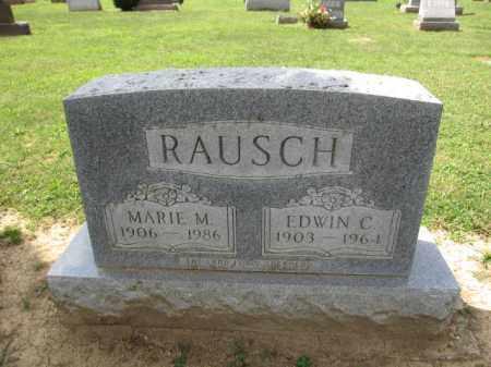 RAUSCH, EDWIN C. - Union County, Ohio | EDWIN C. RAUSCH - Ohio Gravestone Photos