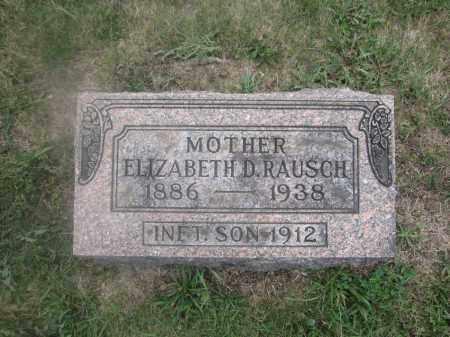 RAUSCH, ELIZABETH D. - Union County, Ohio | ELIZABETH D. RAUSCH - Ohio Gravestone Photos