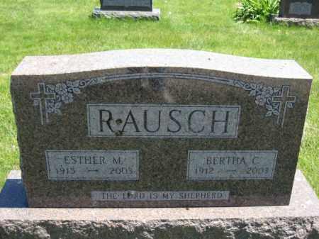 RAUSCH, BERTHA C. - Union County, Ohio | BERTHA C. RAUSCH - Ohio Gravestone Photos