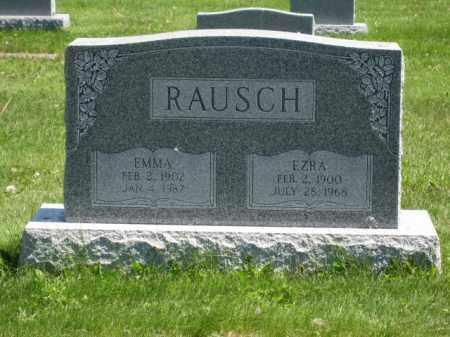 RAUSCH, EMMA - Union County, Ohio   EMMA RAUSCH - Ohio Gravestone Photos