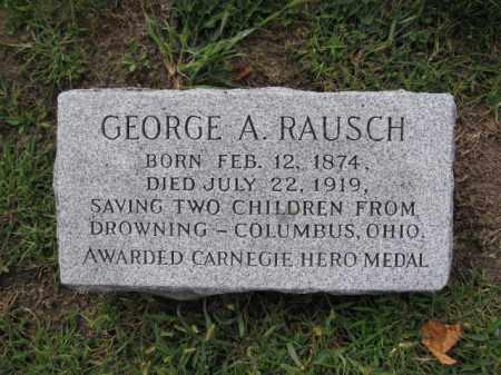 RAUSCH, GEORGE A. - Union County, Ohio | GEORGE A. RAUSCH - Ohio Gravestone Photos