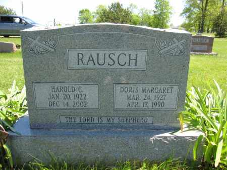 RAUSCH, HAROLD C. - Union County, Ohio | HAROLD C. RAUSCH - Ohio Gravestone Photos