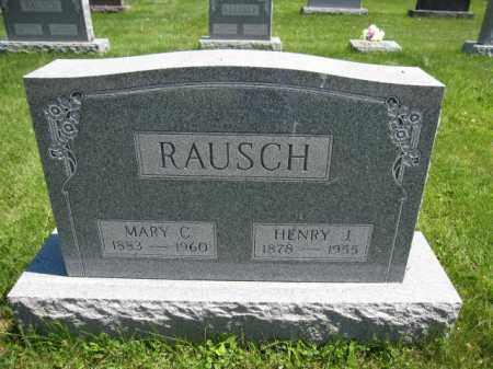 RAUSCH, HENRY J. - Union County, Ohio | HENRY J. RAUSCH - Ohio Gravestone Photos