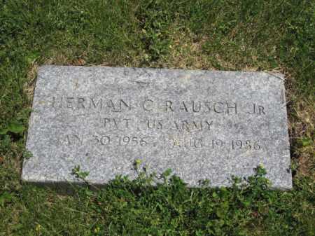 RAUSCH, HERMAN C. - Union County, Ohio | HERMAN C. RAUSCH - Ohio Gravestone Photos