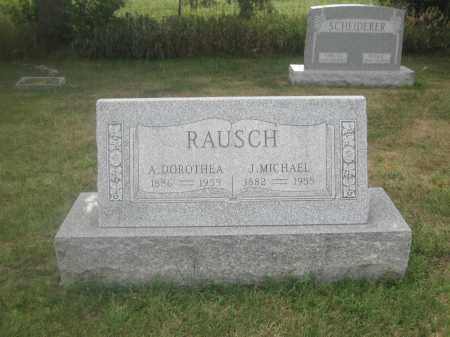 RAUSCH, A. DOROTHEA - Union County, Ohio | A. DOROTHEA RAUSCH - Ohio Gravestone Photos
