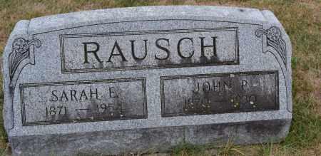 RAUSCH, JOHN P. - Union County, Ohio | JOHN P. RAUSCH - Ohio Gravestone Photos