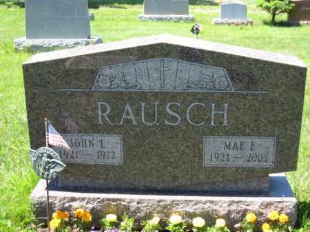 RAUSCH, MAE E. - Union County, Ohio | MAE E. RAUSCH - Ohio Gravestone Photos