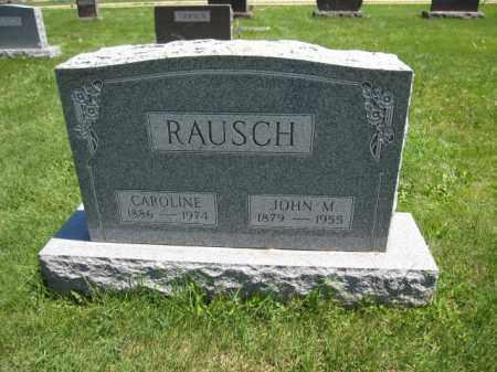 RAUSCH, JOHN M. - Union County, Ohio | JOHN M. RAUSCH - Ohio Gravestone Photos