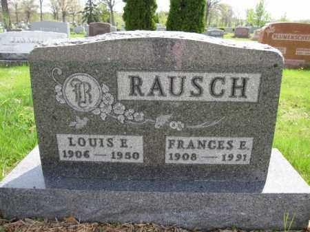 RAUSCH, FRANCES E. - Union County, Ohio | FRANCES E. RAUSCH - Ohio Gravestone Photos