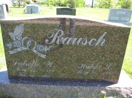 RAUSCH, LUTRELLE W. - Union County, Ohio   LUTRELLE W. RAUSCH - Ohio Gravestone Photos