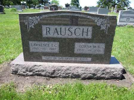 RAUSCH, LAWRENCE E.C. - Union County, Ohio   LAWRENCE E.C. RAUSCH - Ohio Gravestone Photos