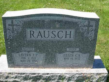 RAUSCH, HELEN C.A. - Union County, Ohio | HELEN C.A. RAUSCH - Ohio Gravestone Photos