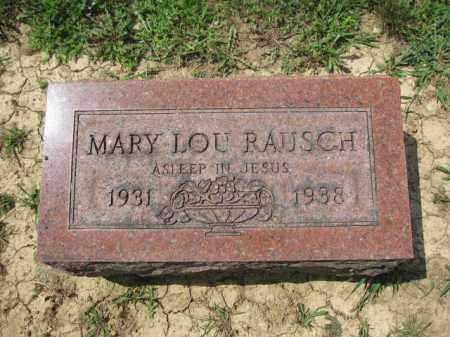 RAUSCH, MARU LOU - Union County, Ohio | MARU LOU RAUSCH - Ohio Gravestone Photos