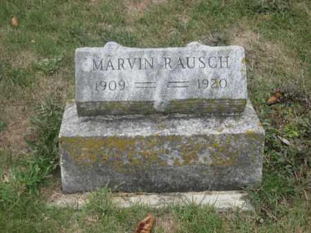 RAUSCH, MARVIN - Union County, Ohio | MARVIN RAUSCH - Ohio Gravestone Photos