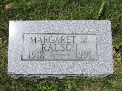 RAUSCH, MARGARET M. - Union County, Ohio | MARGARET M. RAUSCH - Ohio Gravestone Photos