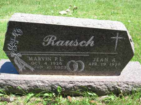 RAUSCH, MARVIN P.L. - Union County, Ohio | MARVIN P.L. RAUSCH - Ohio Gravestone Photos