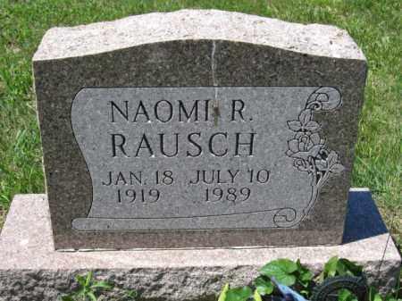 RAUSCH, NAOMI R. - Union County, Ohio   NAOMI R. RAUSCH - Ohio Gravestone Photos