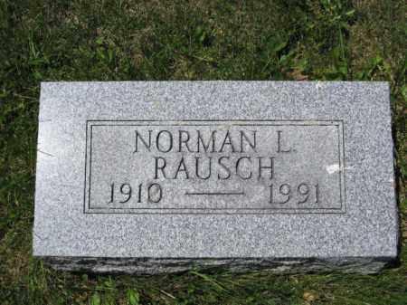 RAUSCH, NORMAN L. - Union County, Ohio   NORMAN L. RAUSCH - Ohio Gravestone Photos