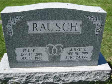 RAUSCH, MINNIE C. - Union County, Ohio | MINNIE C. RAUSCH - Ohio Gravestone Photos