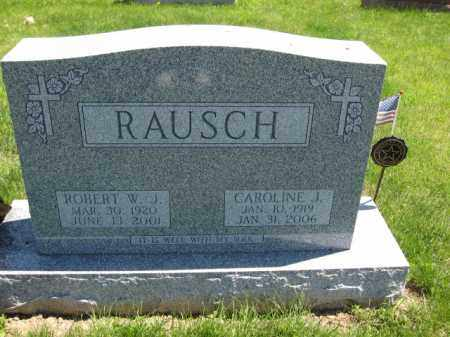 RAUSCH, CAROLINE J. - Union County, Ohio | CAROLINE J. RAUSCH - Ohio Gravestone Photos
