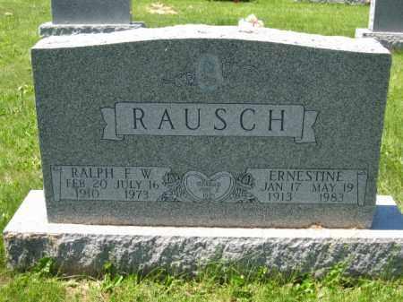 RAUSCH, ERNESTINE - Union County, Ohio   ERNESTINE RAUSCH - Ohio Gravestone Photos