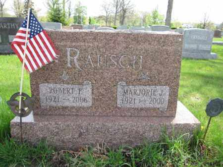 RAUSCH, ROBERT F. - Union County, Ohio   ROBERT F. RAUSCH - Ohio Gravestone Photos
