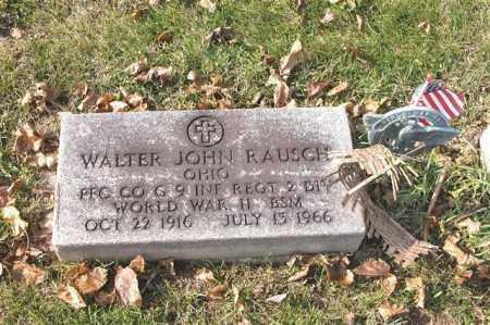 RAUSCH, WALTER JOHN - Union County, Ohio | WALTER JOHN RAUSCH - Ohio Gravestone Photos