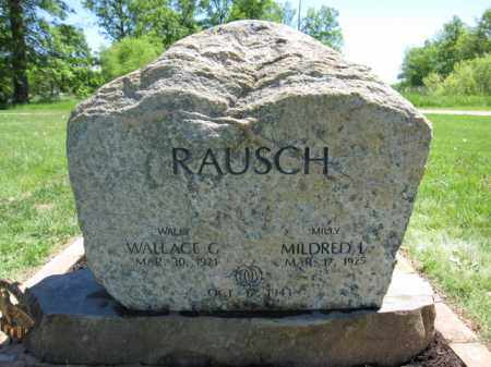 RAUSCH, WALLACE G. - Union County, Ohio | WALLACE G. RAUSCH - Ohio Gravestone Photos