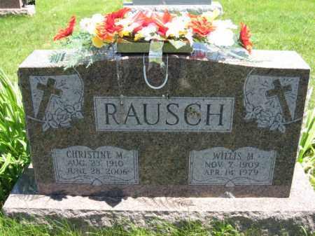 RAUSCH, CHRISTINE M. - Union County, Ohio | CHRISTINE M. RAUSCH - Ohio Gravestone Photos