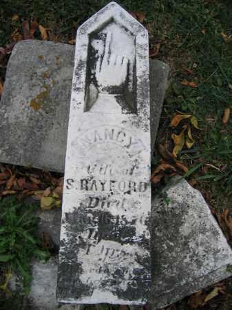 RAYFORD, NANCY - Union County, Ohio   NANCY RAYFORD - Ohio Gravestone Photos