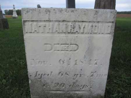 RAYMOND, NATHAN - Union County, Ohio | NATHAN RAYMOND - Ohio Gravestone Photos