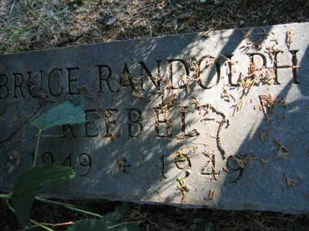 REEBEL, BRUCE RANDOLPH - Union County, Ohio   BRUCE RANDOLPH REEBEL - Ohio Gravestone Photos