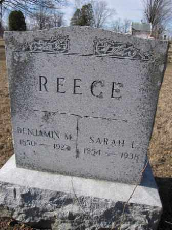 REECE, BENJAMIN M. - Union County, Ohio | BENJAMIN M. REECE - Ohio Gravestone Photos