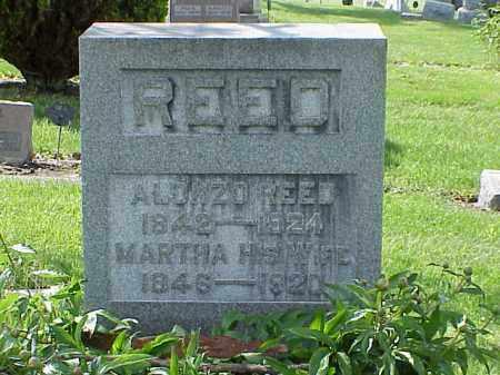 REED, MARTHA - Union County, Ohio | MARTHA REED - Ohio Gravestone Photos