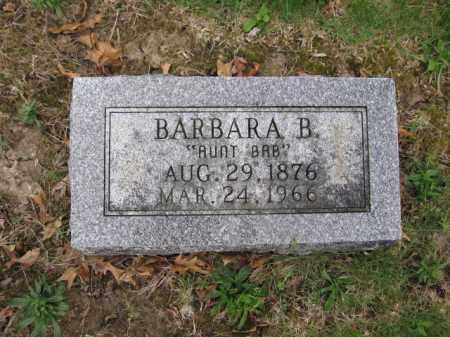 REED, BARBARA B. - Union County, Ohio   BARBARA B. REED - Ohio Gravestone Photos